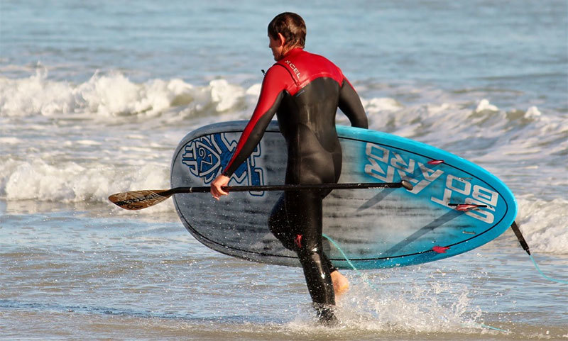 wetsuit stand up paddle boarding