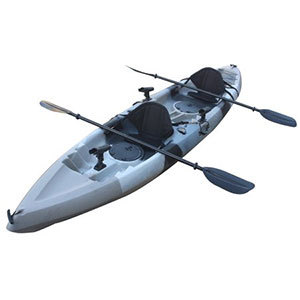 Useful UH-TK181 12.5 foot Sit On Top Tandem Fishing Kayak with Paddles and Seats