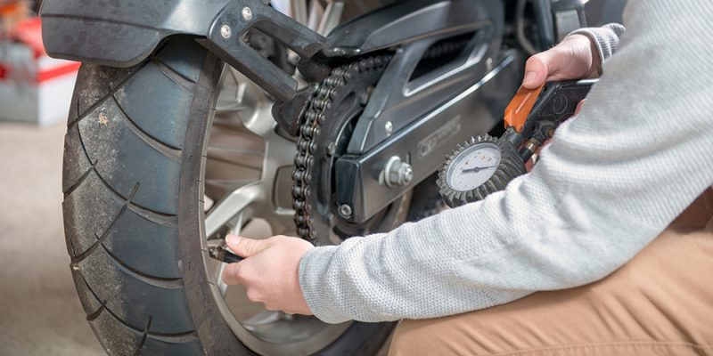 Prepare For Flats: Don't Ride Without A Portable Motorcycle Tire Inflator